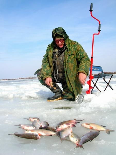 рыбалка у верхнего бузана